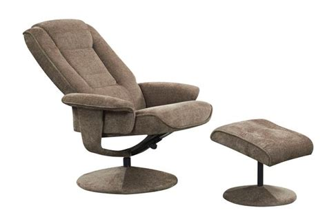 new miami fabric manual reclining swivel recliner armchair