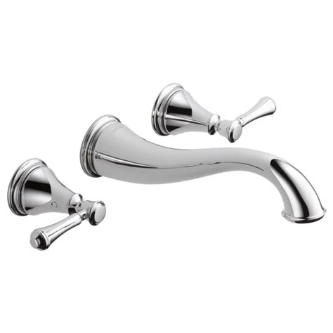 Delta Faucets Canada by T3597lf Wl Two Handle Wall Mount Lavatory Faucet Trim