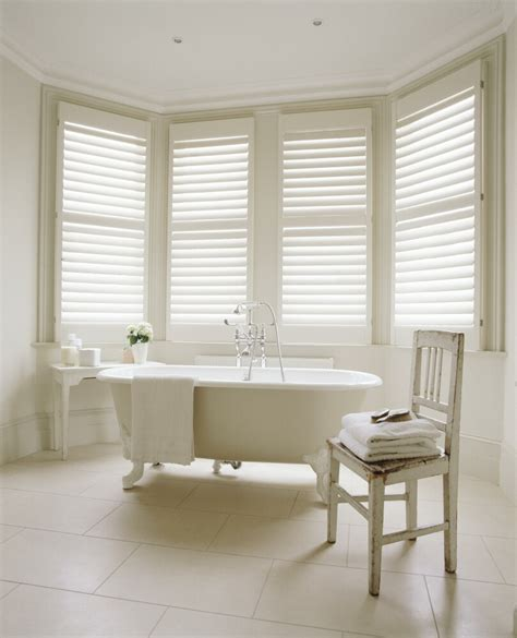plantation shutters in bathroom why plantation shutters look great in a bathroom byzantine design