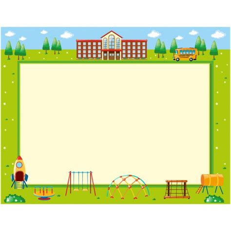 layout photo free school background design vector free download
