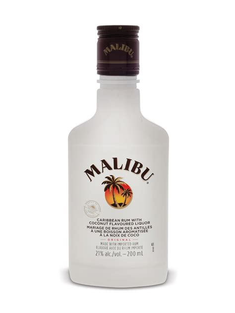 content in malibu rum malibu coconut rum liqueur lcbo