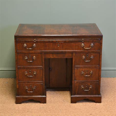 george iii antique figured mahogany antique desk 06677