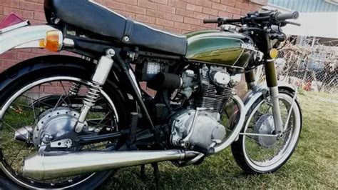 buy 1974 honda cb 350 classic vintage on 2040 motos 1974 cb350 rebuilt restored green barn find cafe