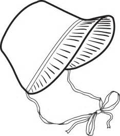 Easter Bonnet Printable Templates by Free Printable Pilgrim Bonnet Coloring Page For