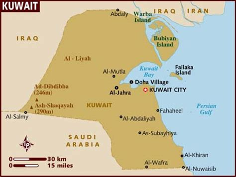 Kuwait Address Finder Map Of Kuwait