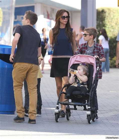 Family Flat Shoe beckham wears flats and the world doesn t stop