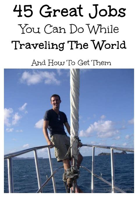 word whizzle traveling by boat 45 great jobs you can do while traveling the world and how