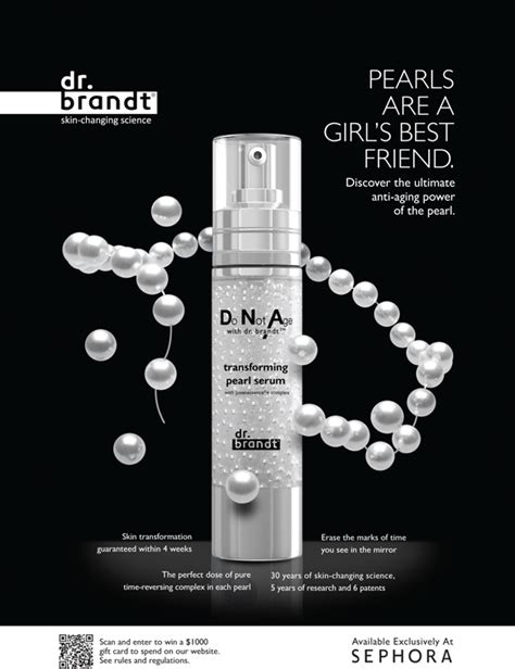 Bps Free Serum Pearl Skincare dr brandt skincare launches it s national
