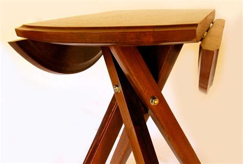 Drop Leaf Bistro Table The Windmill Four Legs Drop Leaf Bistro Table Recycled Oak Wine Barrel