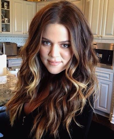 how to get khloe kardashian wedding hair khloe kardashian curls ombr 233 great women great hair