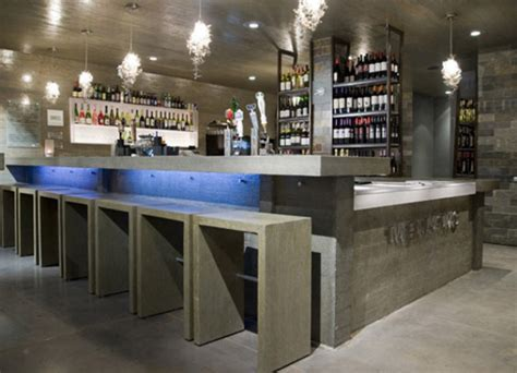 commercial bar top designs concrete photo gallery cheng concrete exchange