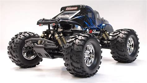 5 11 Beast Blue Black 1 8 th scale exceed rc truck madbeast nitro gas