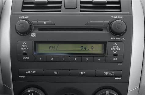 Toyota Radio 2010 Toyota Corolla Factory Radio Specs