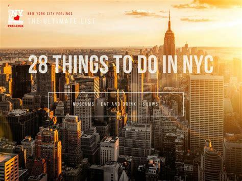 visit nyc  ultimate list