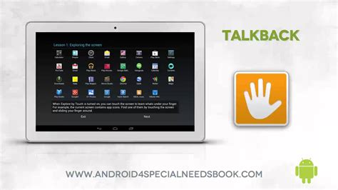 android talk back visual impairment blind technologies assistive technology supports and resources