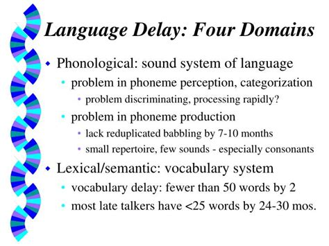 language delay  young children assessment