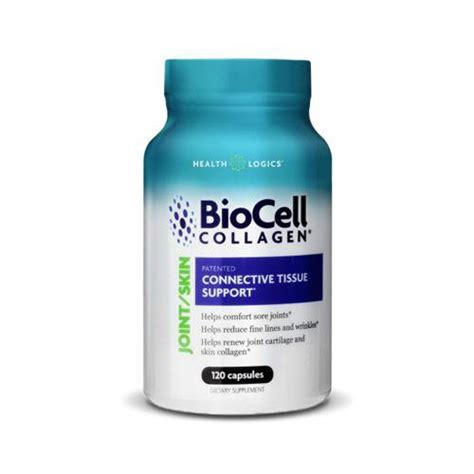 Biocell Collagen health logics biocell collagen joint and skin care 120 capsules