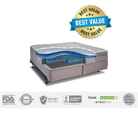 personal comfort best luxury air mattress and adjustable bed jan 17
