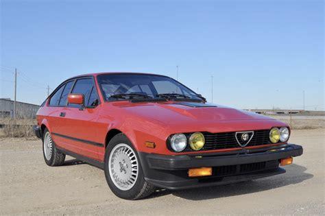 1986 Alfa Romeo Gtv6 by 1986 Alfa Romeo Gtv6 2 5 Classic Italian Cars For Sale