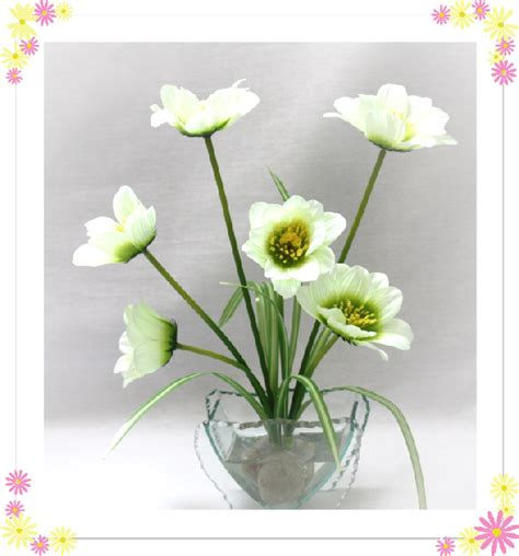 Artificial Water For Vases by Evergreenglobal Artificial White Flowers In Water