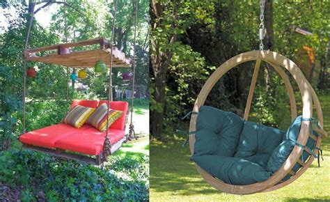 to swing or not to swing 10 beautiful wooden garden swing ideas houz buzz