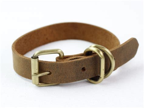 small leather collars leather collar small accessories scaramanga