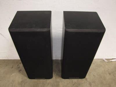 black powerful cerwin vega ls 10 floor speakers