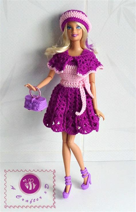 design doll clothes pink purple fashion design patterns and fashion dolls