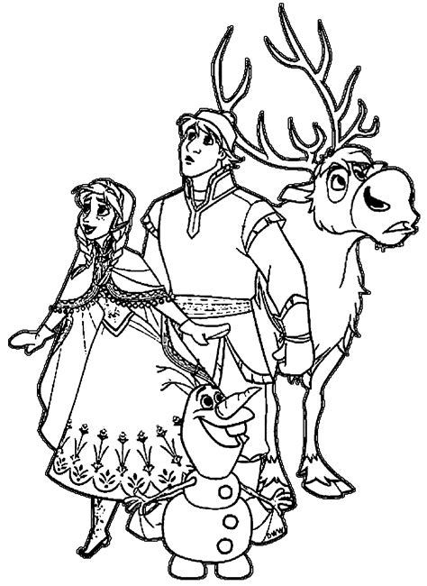 olaf coloring pages hellokids com 100 olaf coloring pages frozen anna elsa coloring