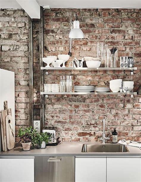 Removing Brick Kitchen Wall by Best 25 Brick Walls Ideas On Faux Brick