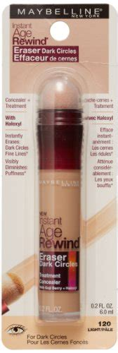 Maybelline Circles Treatment Formula No 120 Lightpale maybelline makeup instant age rewind concealer circle