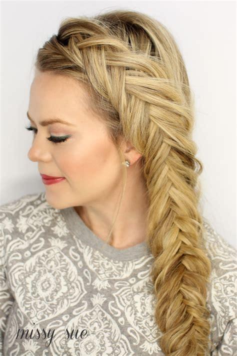 fishtail braid hair gallery dutch fishtail french braid ideas 7 hairzstyle com