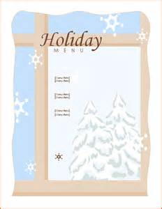 Sle Menu Design Templates by 6 Microsoft Word Templates Bookletemplate Org