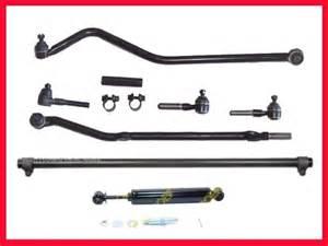 97 05 jeep wrangler drag link tie rod rodstrack bar ebay