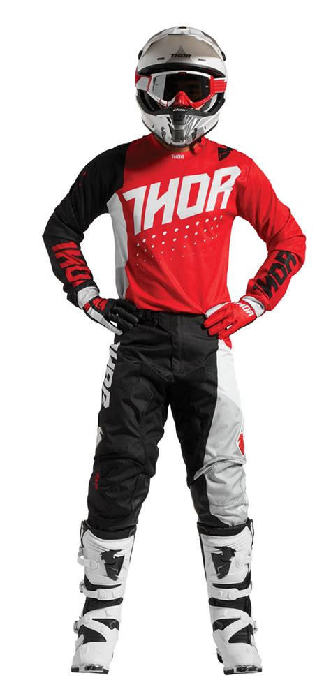 thor motocross gear thor mx motocross 2017 pulse aktiv jersey kit