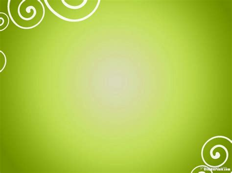 green spiral ornament powerpoint background powerpoint