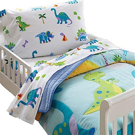 bed bath and beyond kids bedding olive kids dinosaur land toddler sheet set bed bath beyond