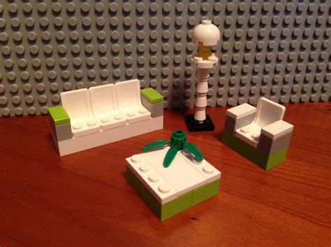 lego tutorial furniture awesome lego modern living room design this is a