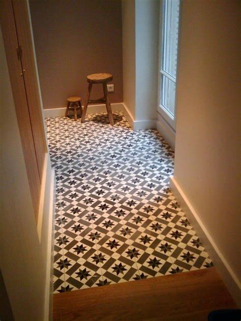Melange Carreaux De Ciment Et Parquet by Carreaux De Ciment Charme Parquet Modele Ch 13
