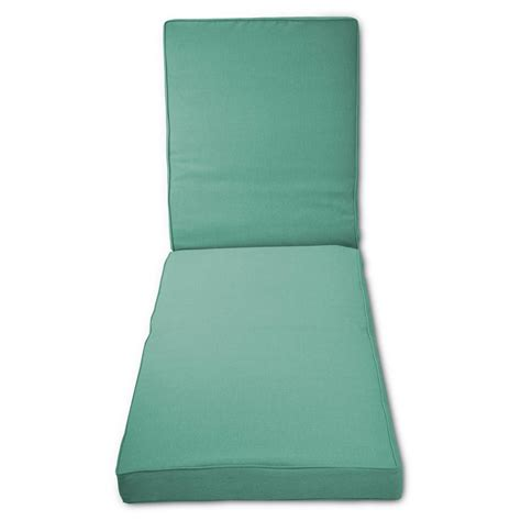 turquoise chaise lounge cushions belvedere outdoor replacement patio chaise lounge cushion