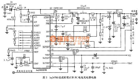 laptop charger wiring diagram laptop battery charger circuit composed of bq24700 power