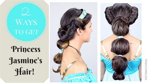 show me a picture of get this hairstyle from vikings 2 ways to get princess jasmine s hair youtube