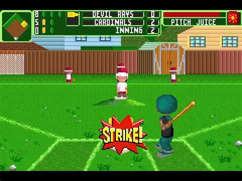 backyard baseball gba backyard baseball 2006 gba season game 2 youtube