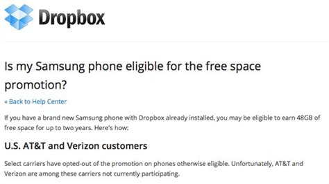 dropbox won t install dropbox confirms galaxy s iii on at t and verizon won t