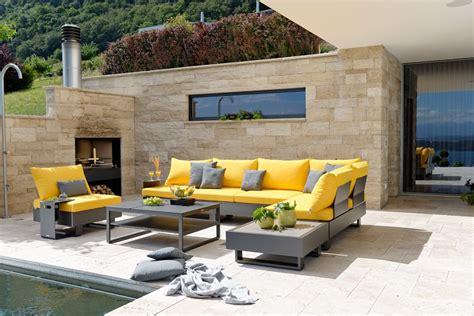 lounge möbel wetterfest gartenlounges aus den materialien rattan metall und teakholz