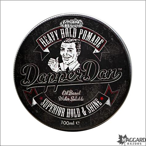 Pomade Oilbased Heavy dapper dan heavy hold based pomade 100ml maggard razors traditional products