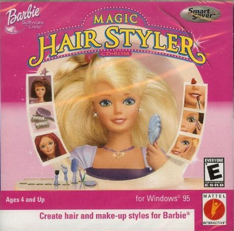 Magic Hair Styler by Computer Magic Hair Styler Cd Rom Jc