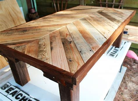 homemade coffee table made from stained wood and pipe pallet wood coffee table diy coffee table pallets and
