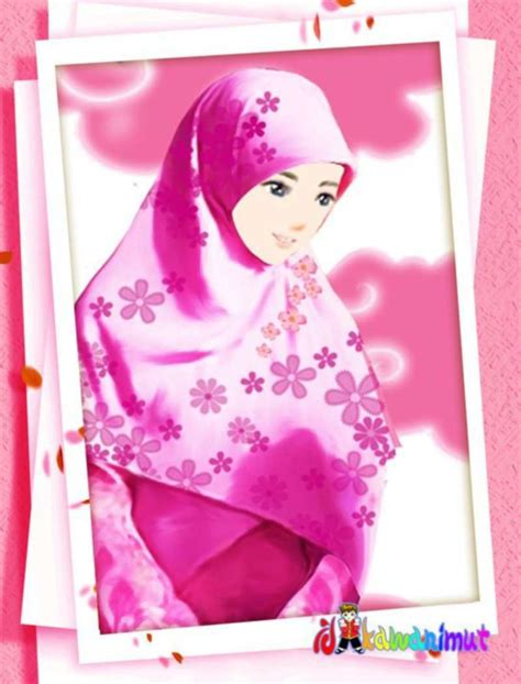 foto anime kartun berhijab 17 gambar kartun muslimah cantik berhijab anak cemerlang