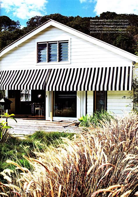 exterior canvas awnings black and white striped awnings on white weatherboard